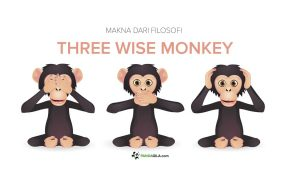 Makna filosofi Three wise monkey