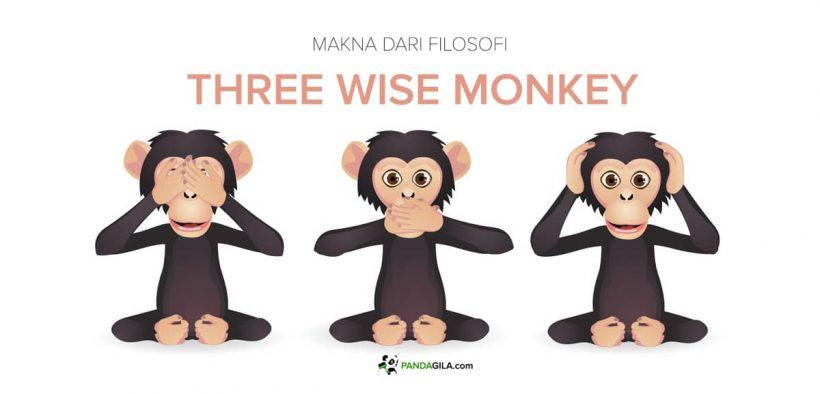 Makna filosofi Three wise monkey