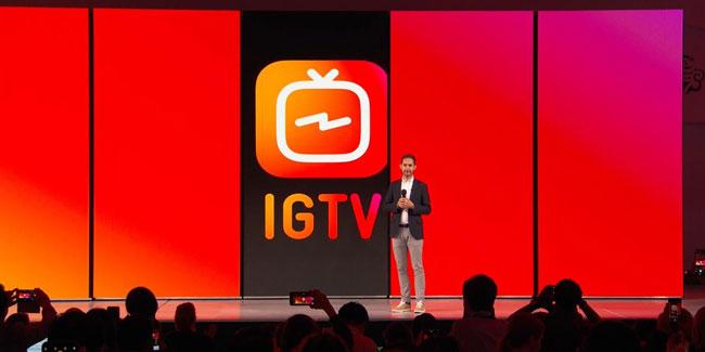 IGTV resmi diluncurkan Instagram
