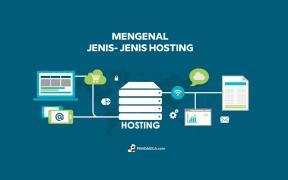 Mengenal jenis- jenis hosting
