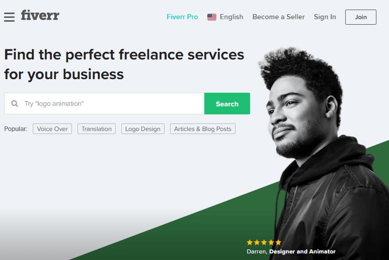 Fiverr, situs freelance populer
