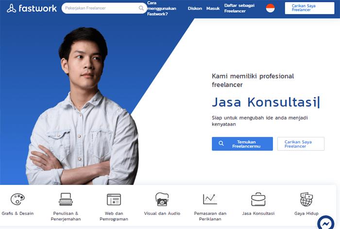 Situs freelance Indonesia Fastwork.id