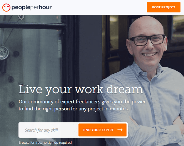 PeoplePerHour, situs freelance luar negeri populer