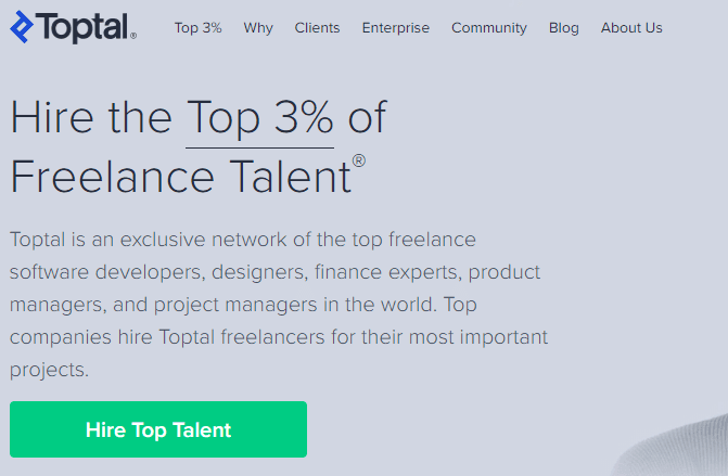 TopTal, situs freelancer populer luar negeri