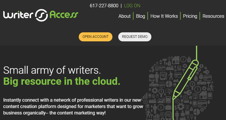 Writer Access, situs freelance untuk penulis