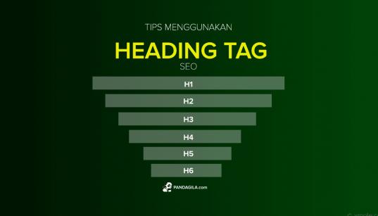 Cara Menggunakan Heading Tag H1 H2 H3 - H6 SEO