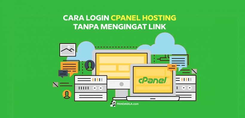 Cara login cPanel hosting tanpa mengingat link