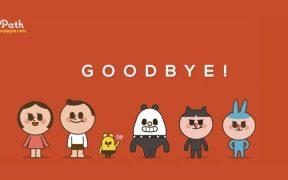 Path ditutup! Ucapkan selamat tinggal kepada Path