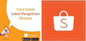 Cetak label pengiriman di Shopee dengan J&T dan JNE