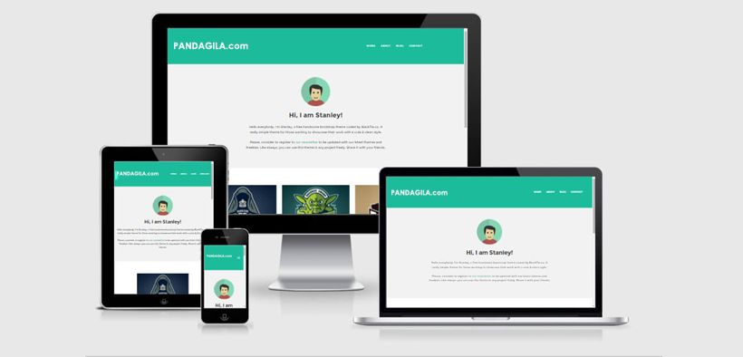 Theme website responsive terbaik