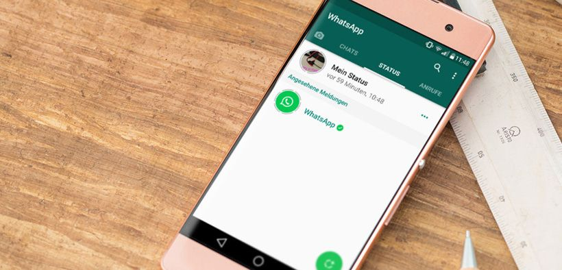 WhatsApp dengan penggunaan yang mudah dan antar muka yang baik