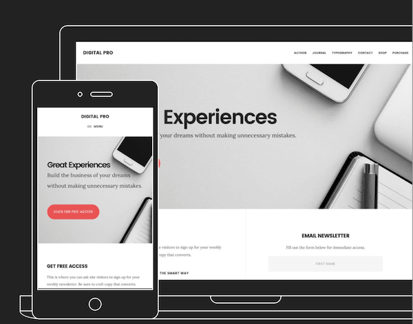 Theme eCommerce WordPress, Digital Pro