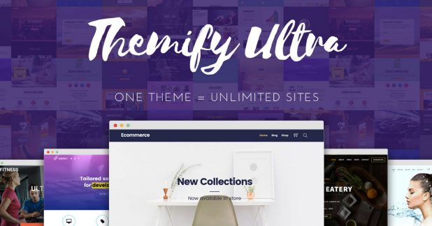 Ultra, theme eCommerce WordPress terbaik dari Themify