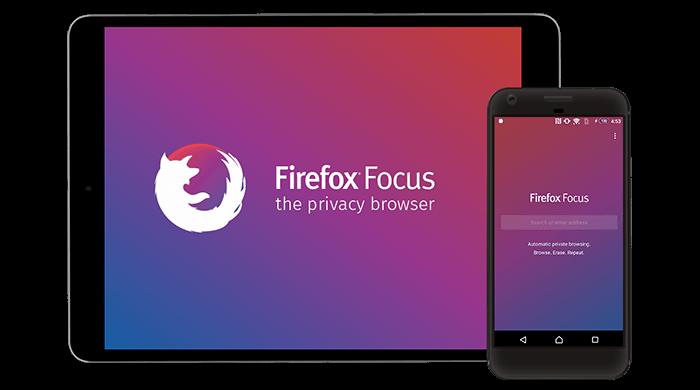 Firefox Focus, aplikasi browser cepat dan privat