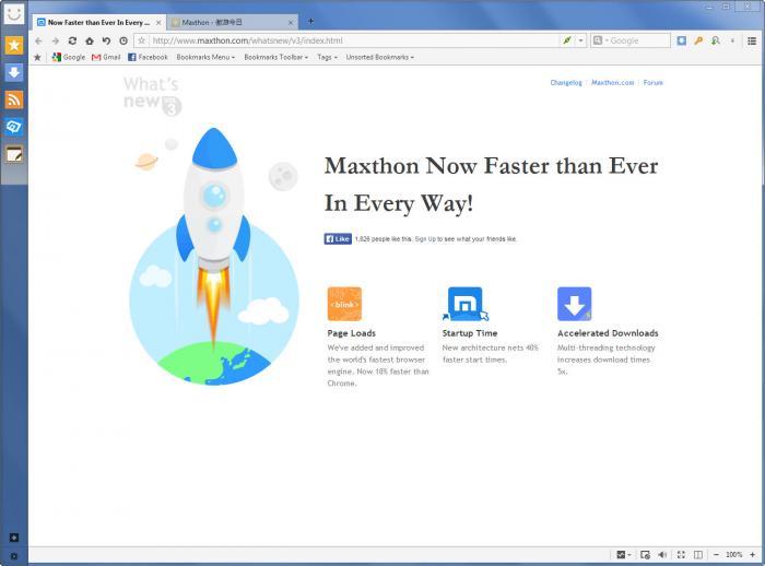 Maxthon Browser, aplikasi browser cepat untuk download