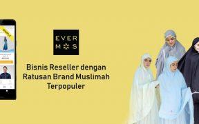 Bisnis Reseller Evermos merangkul brand hijab populer