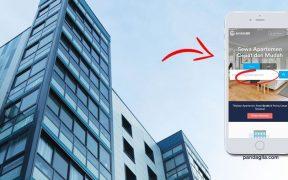 Cari Sewa Apartemen dengan Jendela 360