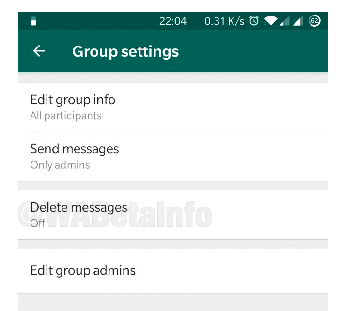 Cara mengatur hapus otomatis di Whatsapp