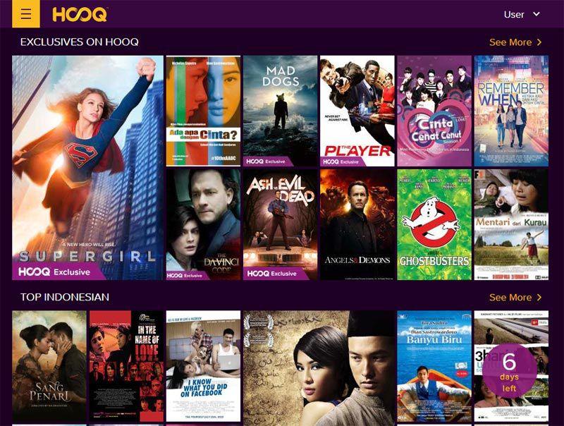 Situs streaming film Hooq