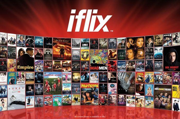 Layanan streaming film Iflix