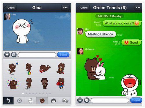 Line sebagai alternatif WhatsApp
