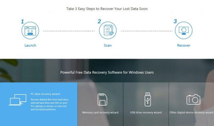 Cara menggunakan EasyUS Recovery Data