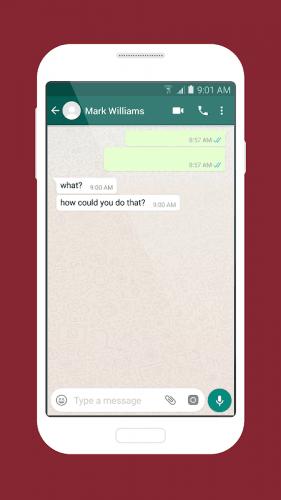 Cara membuat Chat Kosong/ Empty Chat di WhatsApp