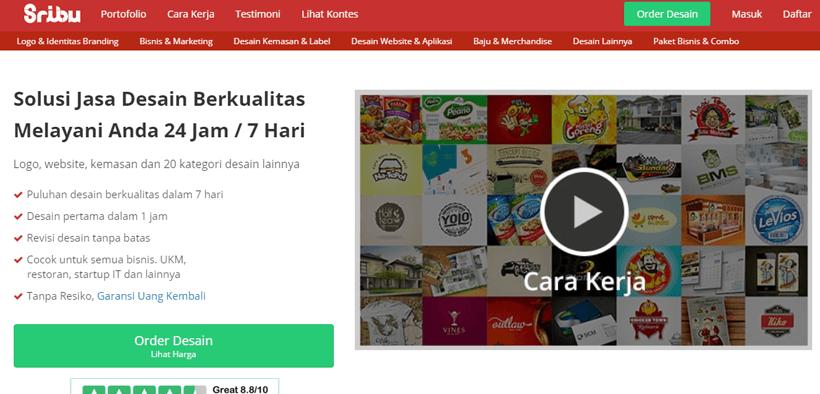 Review situs freelancer Sribu