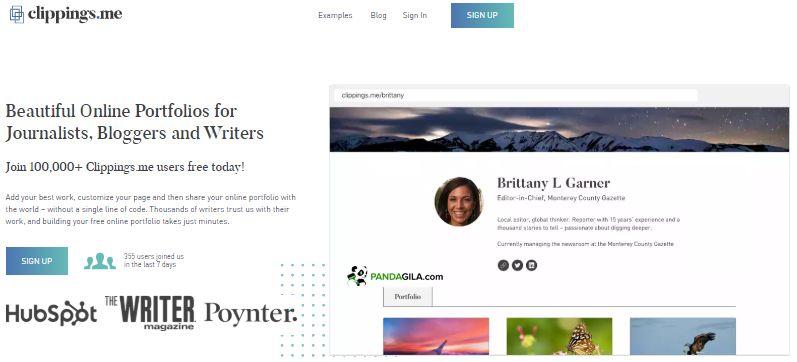 Clippings.me, website untuk membuat portofolio online