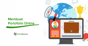 Membuat portofolio online