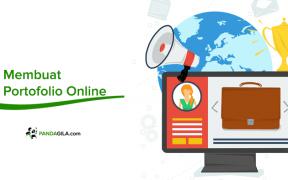 Membuat portofolio online