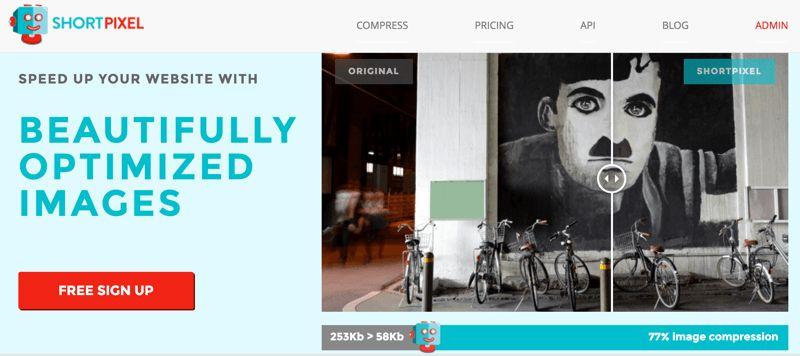 Shortpixel Image Compression plugin untuk WordPress