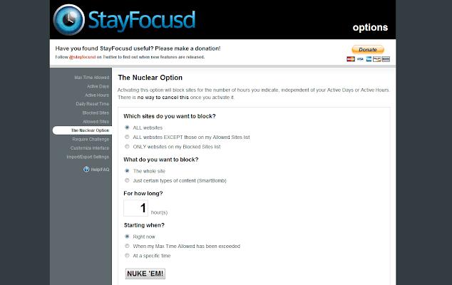 Stay Focusd membantu untuk fokus dalam bekerja