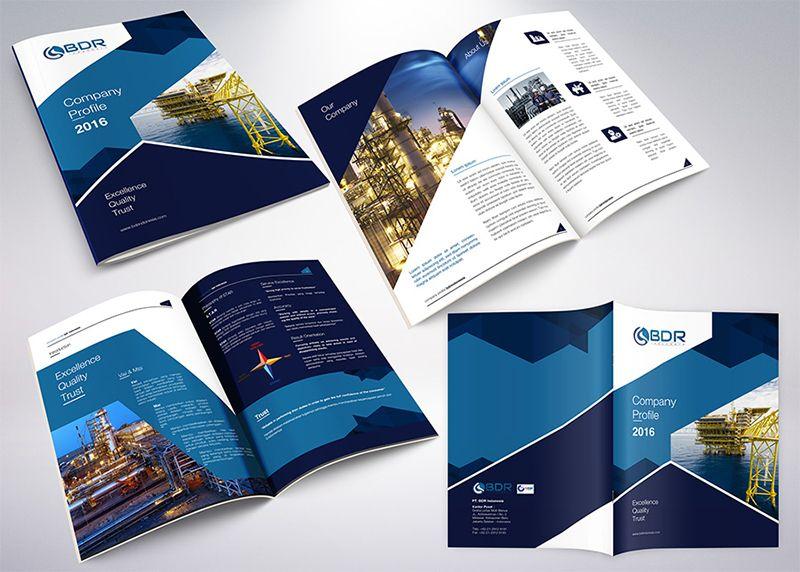 Contoh company profile bentuk cetak