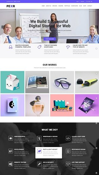Contoh website company profile