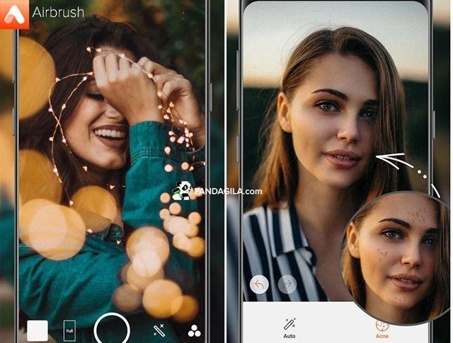 Aplikasi edit foto AirBrush
