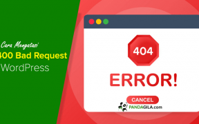 Cara Mengatasi Error 404 Bad Request