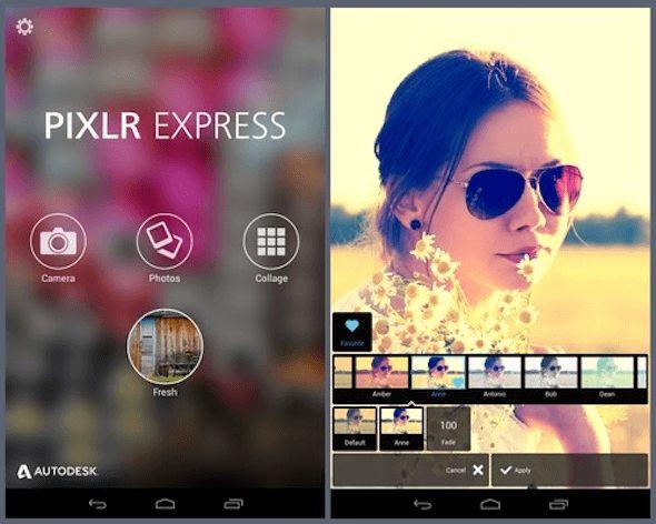 Aplikasi edit foto Pixlr