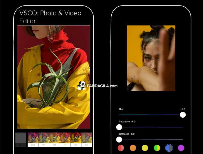 VSCO: Photo & Video Editor, aplikasi edit foto Instagram