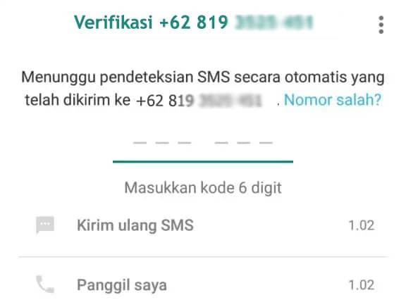 Verifikasi WhatsApp bisnis