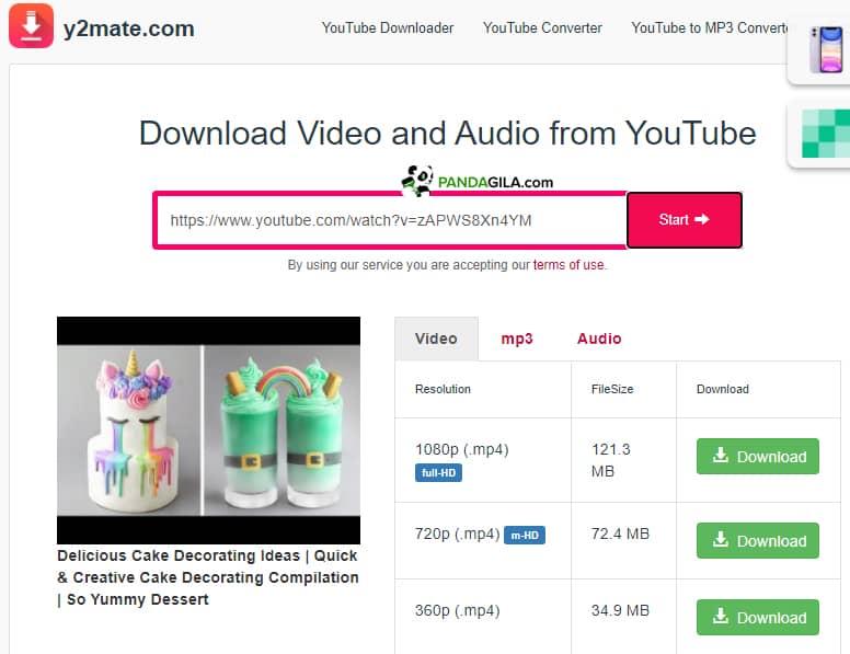 Download video YouTube tanpa IDM dengan Y2mate