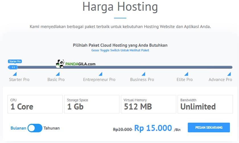 Promo diskon hosting idCloudhost