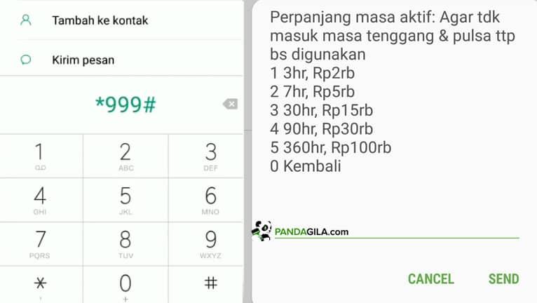 Cara memperpanjang masa aktif Simpati Telkomsel *999#