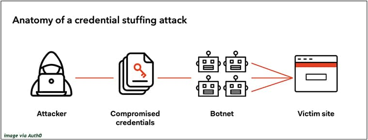 Infografis brute force attack