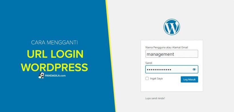 Cara mengubah URL Login WordPress