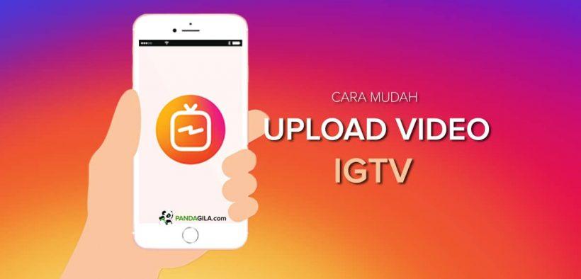 Cara Upload Video IGTV
