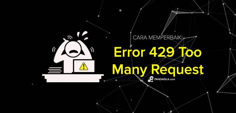 Cara Mengatasi Error 429 Too Many Request