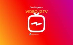Menghapus video IGTV