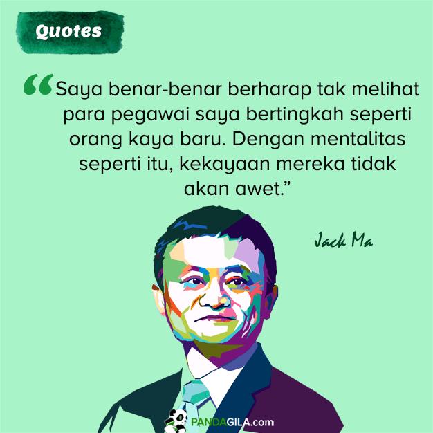 Nasehat Jack Ma tentang mentalitas