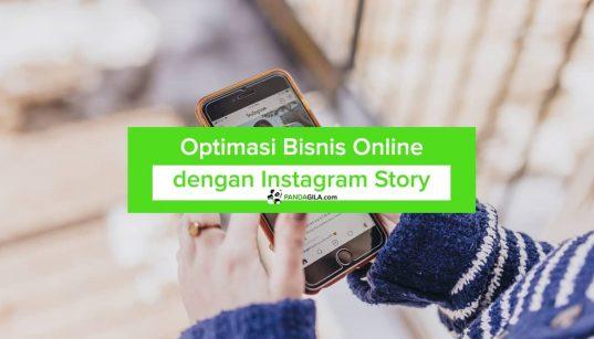 Optimasi bisnis online dengan Instagram